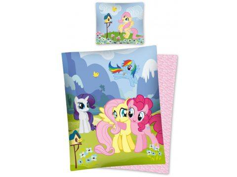 Pościel  licencyjna fioletowa, niebieska , różowo biała z kucykami  My Little Pony  -  160 x 200  MLP 30