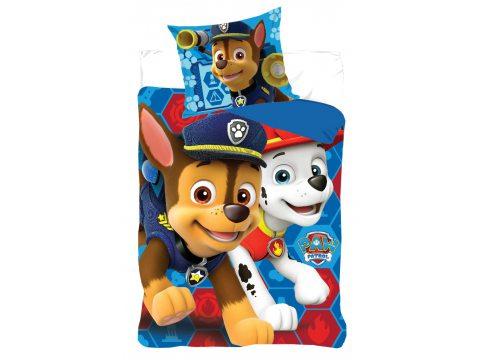 Pościel dziecięca - niebieski, czerwony - Psi Patrol 160x200 Paw Patrol  161