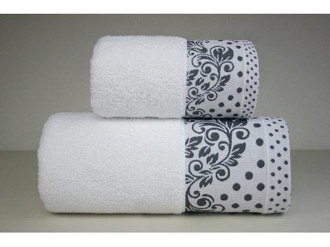 Ręcznik Melissa - Biały z...