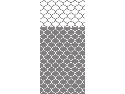 Pościel satynowa biały popielaty - 220x200 - Decor - Greno Gold Line   dwustronna