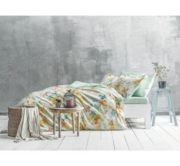 Pościel satynowa ekskluzywna - Gardenia - 200x220 -  Satin Delux  Tivolyo Home