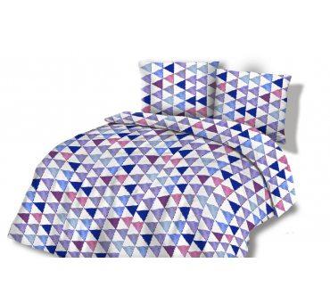 Pościel  Flanelowa 160x200 - Kolorowe Trójkąty wz. 31448/2