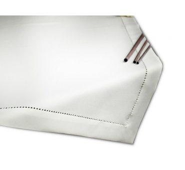 Bieżnik z mereżką 120x120 biały