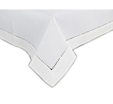 Obrus z mereżką 150x320  biały