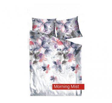 Pościel satynowa Frotex Morning Mist - Kolorowe Kwiaty - 220x200 greno