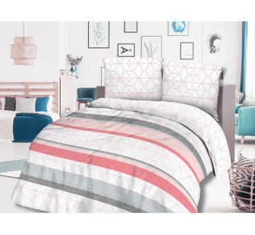 Pościel z bawełny - Geometryczna 220x200 - 71404/1  Cottonlove
