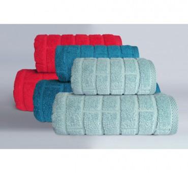 Ręcznik Brick - Aqua - 70 x...