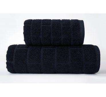 Ręcznik Brick - Czarny - 70...