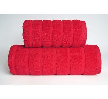 Ręcznik Brick - Czerwony -...