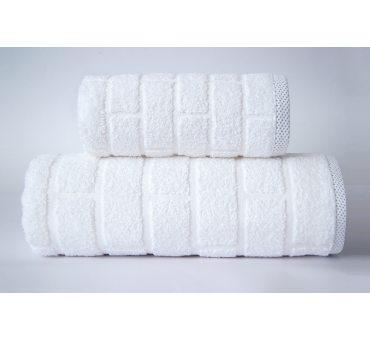Ręcznik Brick - Biały - 50...