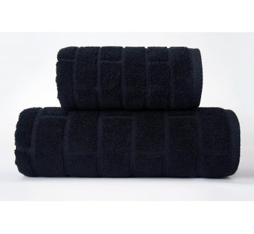 Ręcznik Brick - Czarny - 50...