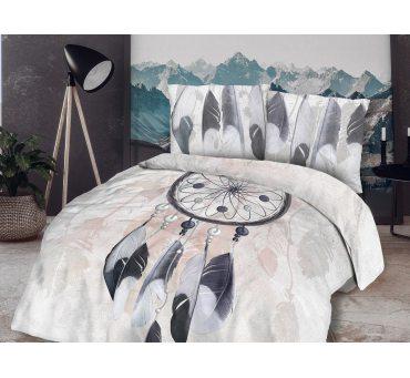 Pościel bawełniana  - łapacz snów - 160x200 - 61431/1 - vintage na prezent