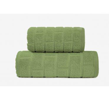 Ręcznik Brick - Oliwkowy -...