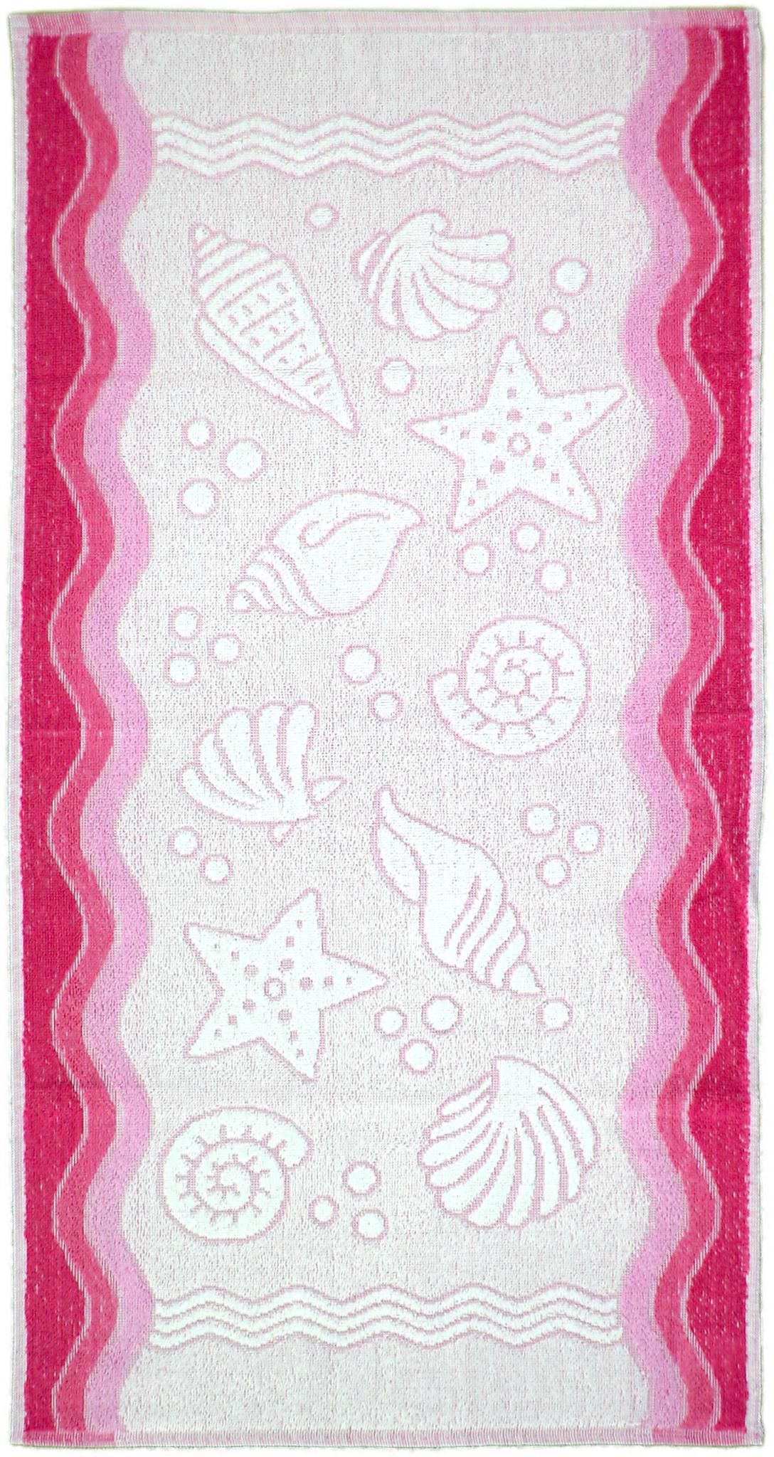 Ręcznik Flora Ocean - Różowy - 70x140 - Everday Collection - Greno