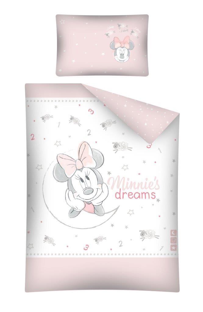 Pościel Dla Dzieci Z Bawełny Myszka Minnie 100x135 Stc 25 A Do