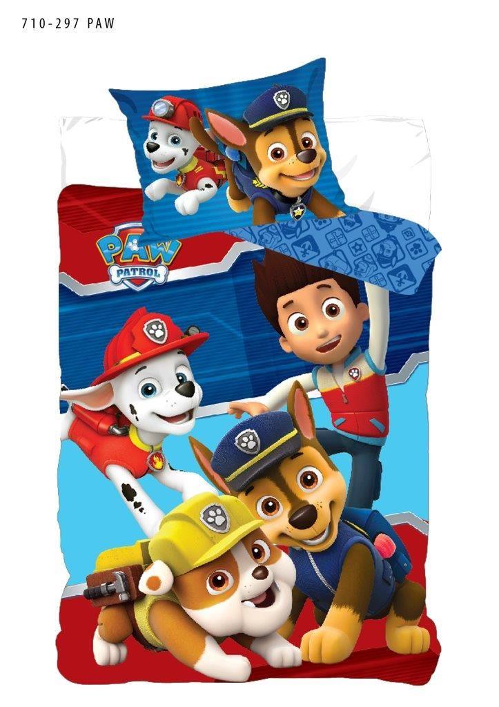 Pościel Z Bawełny Dla Dzieci Psi Patrol 140x200 70x80 Paw 710